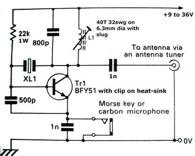 BFY51-transmitter-circuit